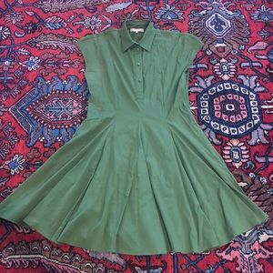Michael Kors green dress size 10